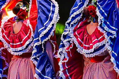 danse folkorique costaricienne